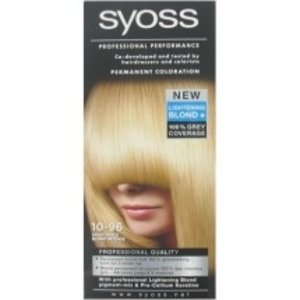 Syoss Syoss Haarverf - nr. 10-96 Sand Blond Intense