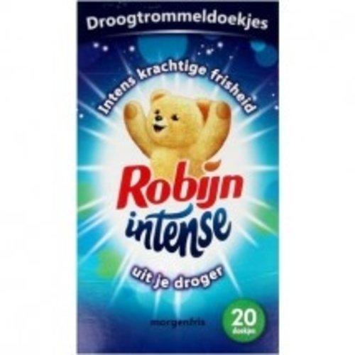 Robijn Robijn Droogtrommeldoekjes - Intense 20 doekjes