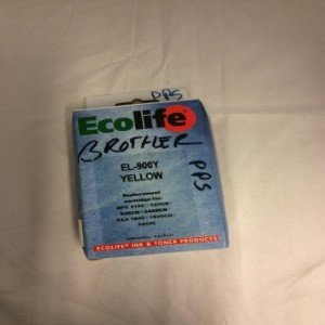 Ecolife Brother EL-900Y Yellow 12DS-591 Replacement cartridge for-MFC210C-420CN-620CN-5440CN F