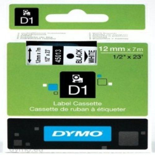 D1 Dymo tape 6mm x 7m Black white 45013 -1DS-591