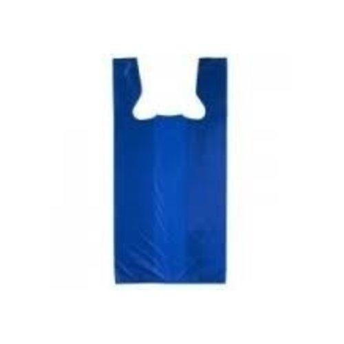 Tas, HDPE, Hemd, 28x14x48cm, hemdtas, Blauw,Exstra sterk 11my,2000st