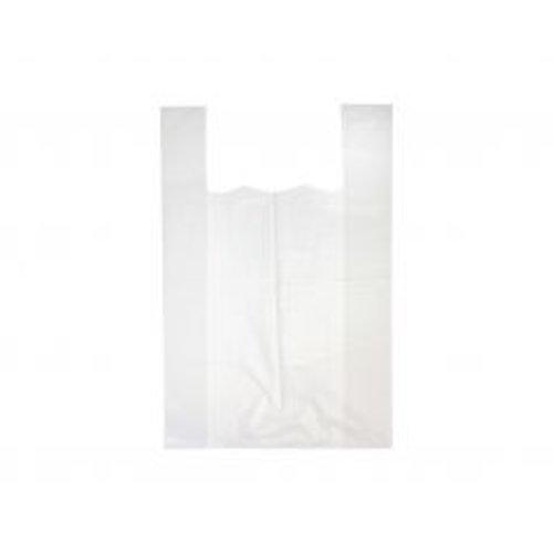 HDPE Tas, HDPE, Hemd, 27x 6x48cm, hemdtas, wit,14my,2000st