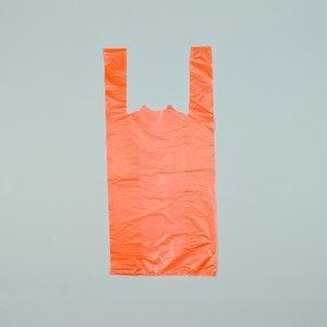 Tas,HDPE,Hemdtas 32x20x60cm Extra Sterk Oranje  1000st,22my