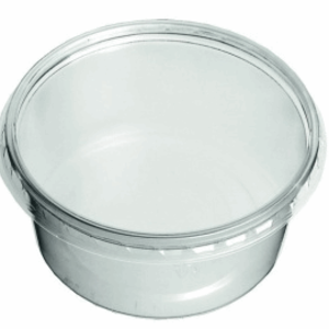 Cup, PP,MW Rond, 250cc, Ø 115mm, 40mm, transparant,50st(hupack)