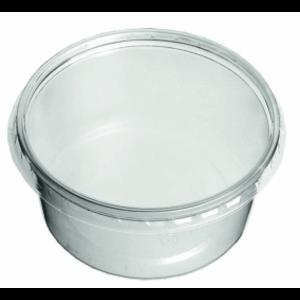 Cup, PP,MW Rond, 250cc, Ø 115mm, 40mm, transparant,50st x15pk ds