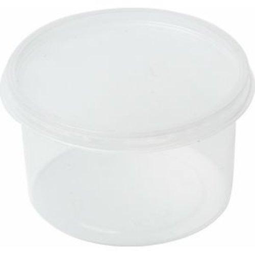 Cup, PP,MW Rond, 500cc, Ø 115mm, 70mm, transparant,50st x10pk ds