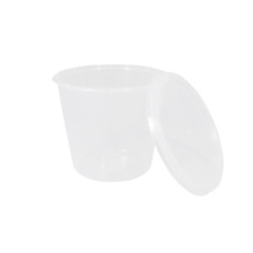 Cup, PP, Rond, 750cc, Ø 160mm,R30,transparant,50st x10pk ds