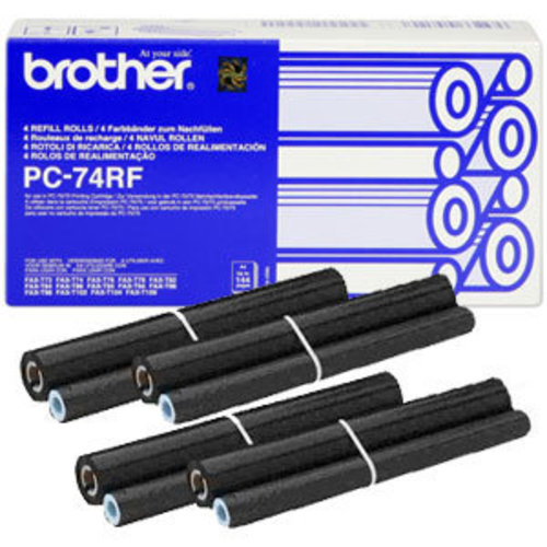 Brother PC-74RF 4 Navulrollen 144Page -1DS-591