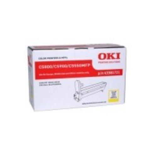 OKI Yellow-C5800/C5900/C5550MFP-Page 6.000-1DS-591