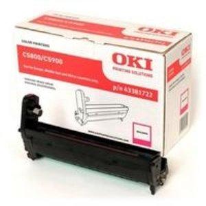 OKI Magenta- C5800/ C5900/ C5550MFP-Page 6.000-1DS-591