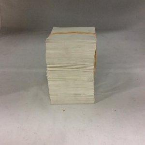 Witte kleine notitieblok /EIN PAK blad  -1DS-591