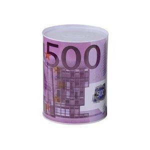 Onbekend Coin Box 8 x 12.7cm Spaarpot Kumpara 500 Euro klein