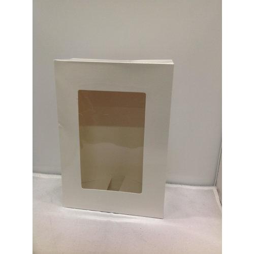 Onbekend Gebakdoos, Karton, M, 24,5x17x7,5cm