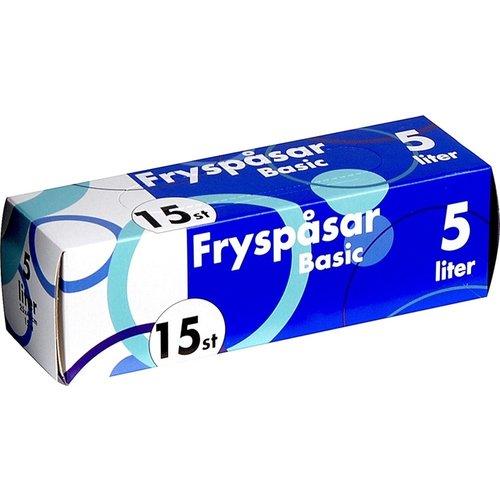 Fryspasar (diepvries/boterhamzak) 15st 5L(25x45cm)48DS-1173