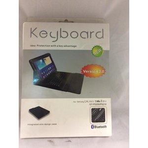 Keyboard Version 3.0 Voor Samsung Galaxy Tab 3 10.1 Black -1DS-591