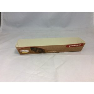 Bak, Karton, gehaktstaafje, 150x30x25mm, 500st, partij product