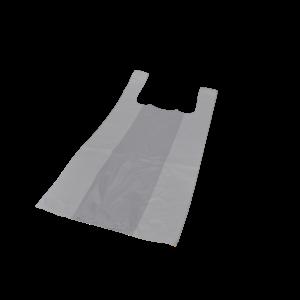 Tas, HDPE, Hemd, 30x20x60cm, hemdtas, wit 1000st