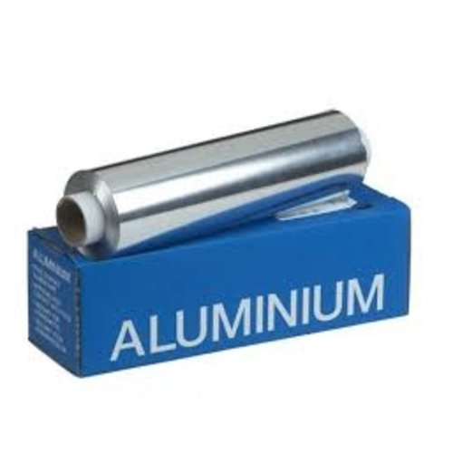 Onbekend Folie, aluminiumfolie, Aluminium, 30cm, , 14my,  1200 kg -6DS-18