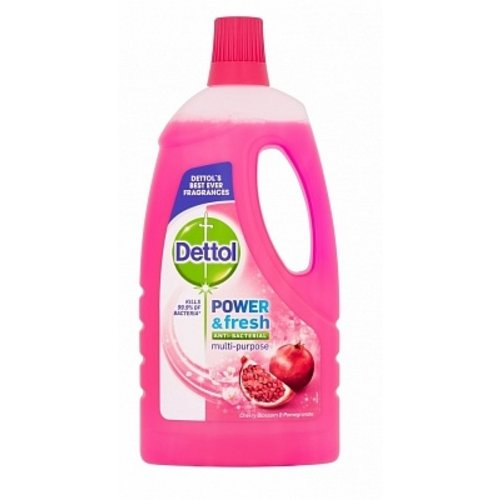 Dettol Dettol Power & Fresh Allesreiniger Kersen 1000 ml 6 ds