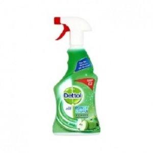 Dettol Dettol Power & Fresh Advance Multi-Purpose Refreshing Green Apple 500ml 6 ds