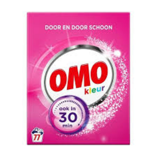 Omo Omo Kleur Waspoeder - 77 wasbeurten - Wasmiddel 1ds