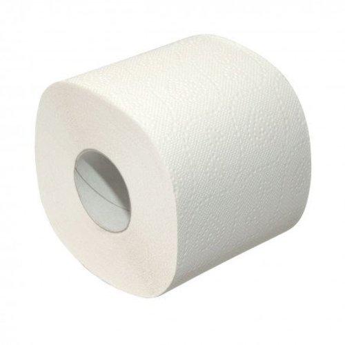 Eda Eda Toiletpapier 24 rollen wit 2-laags  wc papier,duurzaam, 100 % recycling