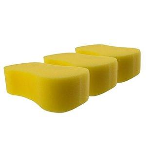Speed Car Wash Sponge 3st Yellow  10st