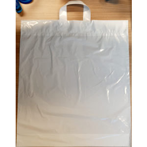 LDPE Lustas 46x52+2x5cm 45my wit coex 250st