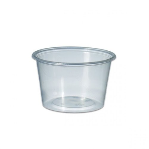 Cup, PP,MW Rond 1000ml, Ø115mm, kunststof cup, 135mm, transparant,250st