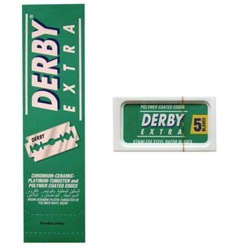 Derby Derby Extra Scheermesjes Dubbelzijdig 5 stuks