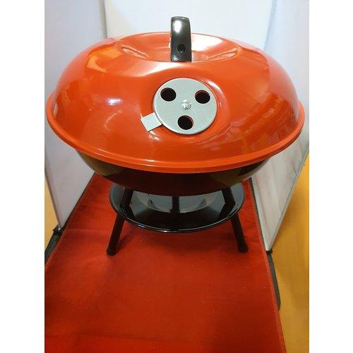 Eda Eda BBQ Kogel Barbecue - rood - Ø 35cm