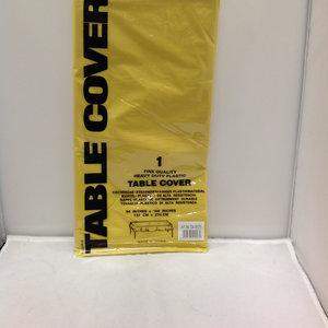 Table Cover Tafeelkleed Geel(masa ortusu) 137cmx274cm 12 ds