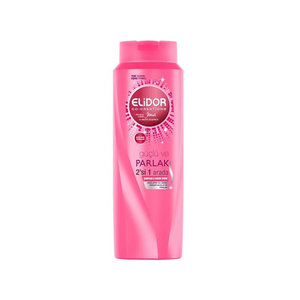 Elidor Shampoo, Guclu ve Parlak 2 in 1 500 ml 4 ds