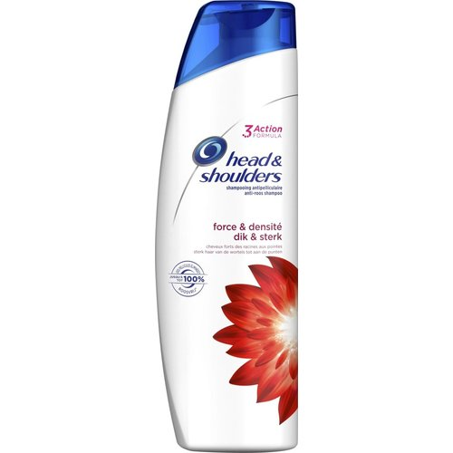Head & Shoulders Head & Shoulders Shampoo, Force Dik & Sterk, 280ml