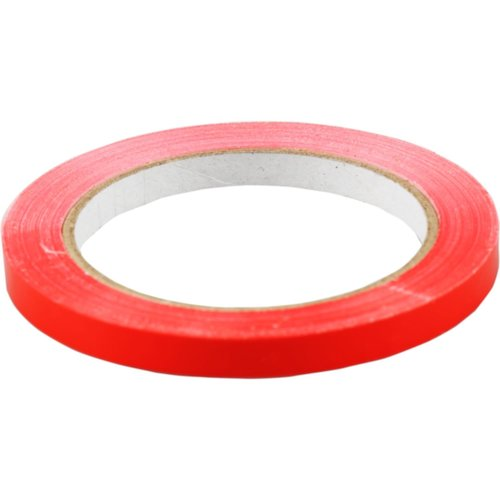 Eda Zakkensluiter, PVC, 9mm, 80 meter, rood