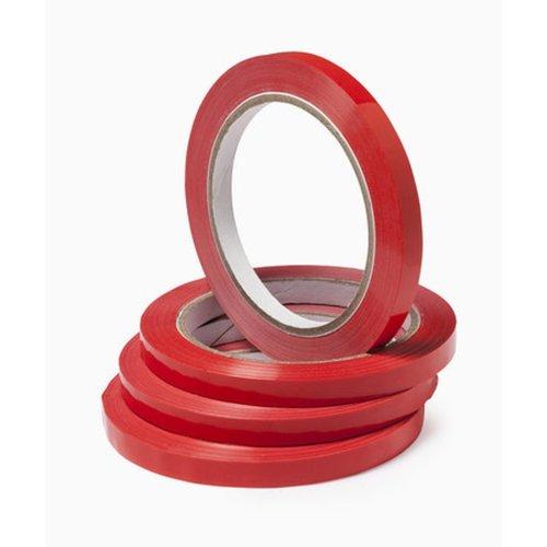 Eda Eda Zakkensluiter, PVC, 9mm, 80 meter, rood