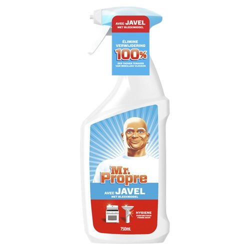 MR PROPER SPRAY JAVEL 750 ML ALLESREINIGER