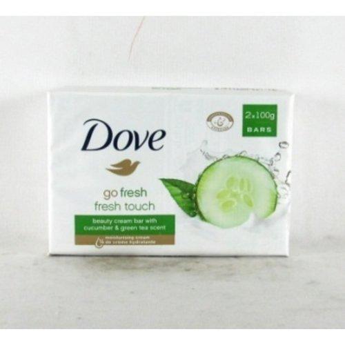 Dove Dove Zeep - Go Fresh Touch Komkommer 2 x 100 gr 24 ds