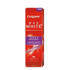 Colgate Colgate Tandpasta Max White White & Protect 75 ml 12ds