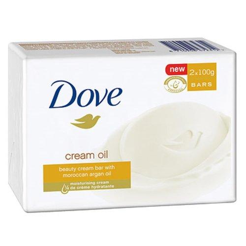 Dove Dove zeep 2x100gr cream Argan oil