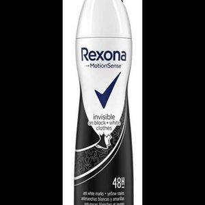 Rexona Rexona deospray 150ml Women Invisible Black + White Clothes