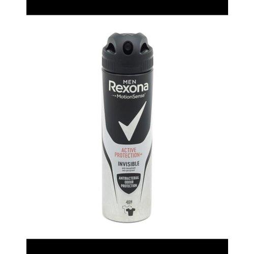 Rexona Rexona deospray 150ml Men Active Protection Invisible Anti-transparant