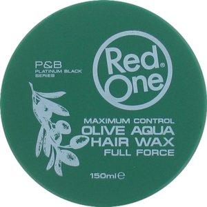RedOne RedOne Haarwax Olive  Aqua Hair Wax 150 ml