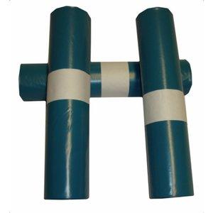 LDPE Afvalzakken - Groen T55 70 x 80 + 5 10st