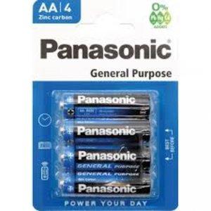 Panasonic Panasonic AA General Purpose Batterij 4 stuks