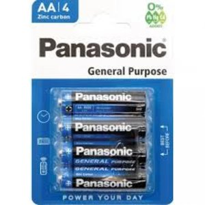 Panasonic Panasonic AA General Purpose Batterijen 4 stuks
