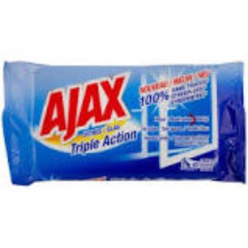 Ajax Ajax Glaswipes - Triple Action 40 st (zonder etiket) -30stuks