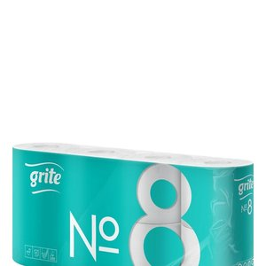 Grite  No:8 rollen Toiletpapier  cellulose  2-laags wc papier 146 vel