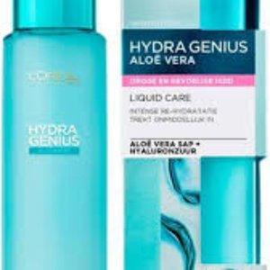 L'Oreal L'Oréal Paris Hydra Genius Liquid Care Moisturiser Sensitive Skin 70ml +L´Oréal Paris Sugar Scrubs Zuiverend Gezichtspeeling 50ml set