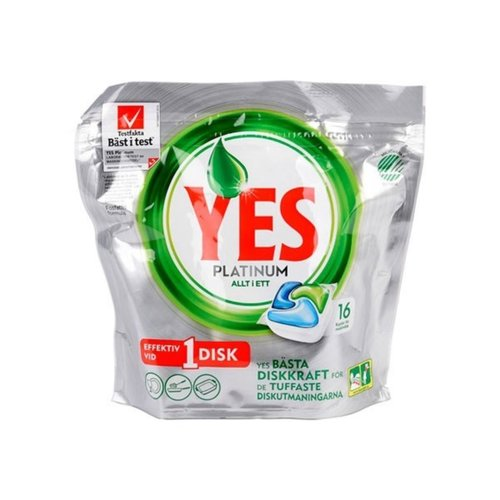 Yes Platinum All-In-One Vaatwas 16 tabs 238 gr